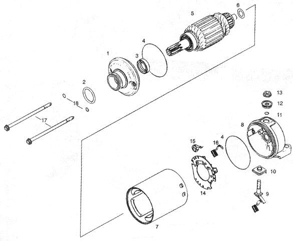 Rotax 503 Starter Assembly