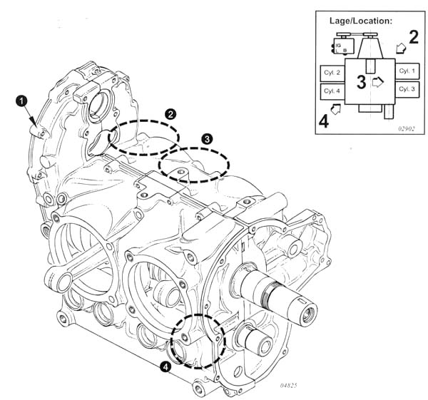 Rotax 912 – Rotax 914 Aircraft Engine Diagram