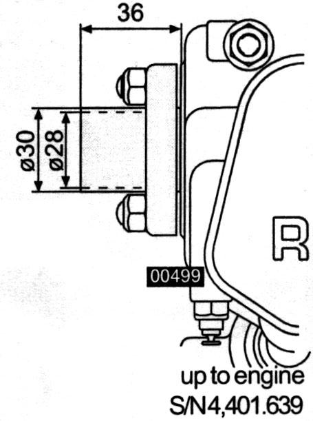 Rotax 912 EGT, exhaust gas temperature probe location, Rotax