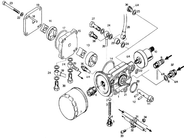 Rotax oil pump Rotax 912 oil pump Rotax 912 oil pump advisory – Rotax 600 Engine Diagram