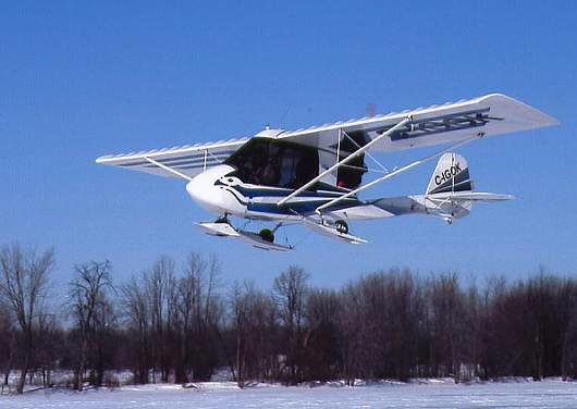 Two Place Ultralight Aircraft http://www.ultralightnews.ca/aircraft-skis/ultralight-skis.html