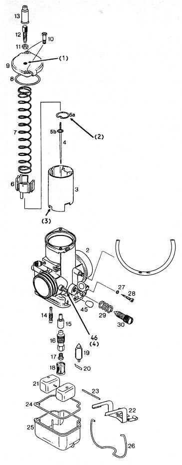 bing 54 carburetors and bing 54 carburetor parts  bing