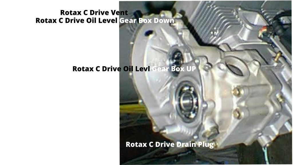 Rotax C Gear Drive Box Parts Diagram and Parts Number Listing – Rotax Engine Parts List Diagram