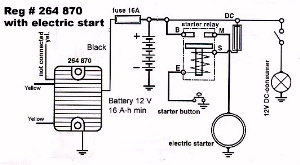 264870electricstart rotax ducati ignition electrical system, troubleshooting a rotax rotax 447 wiring diagram at alyssarenee.co