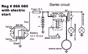 866080welectricstart rotax ducati ignition electrical system, troubleshooting a rotax rotax 447 wiring diagram at alyssarenee.co