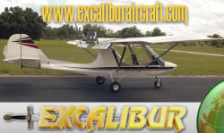 Excalibur experimental amateurbuilt light sport aircraft.