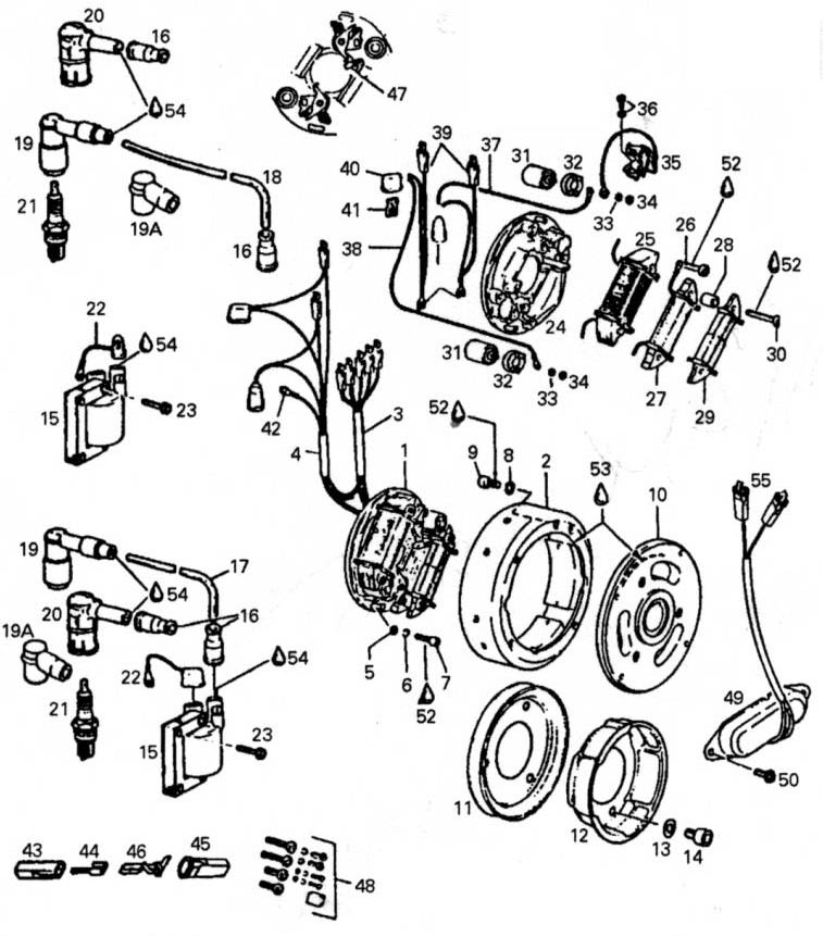 Rotax Ignition Points Wiring Diagram Also Rotax Engine Parts Diagram