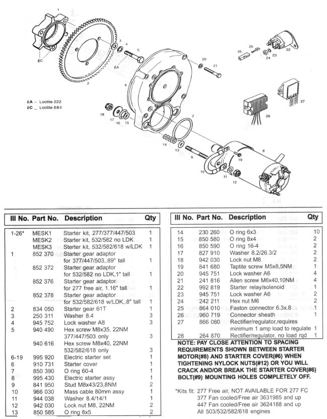 electricstart1 rotax electric starter, rotax aircraft engine electric starters rotax 447 wiring diagram at alyssarenee.co