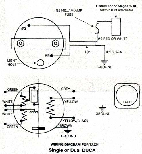 rotax ducati ignition wiring diagram rotax aircraft engine ducati rotax two stroke aircraft engine tachometer wiring diagram for ducati ignition equipped engines