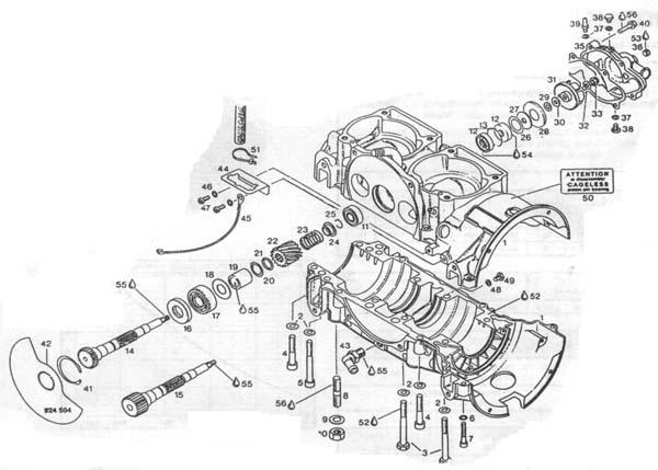 Rotax 582 parts 582 Rotax parts – Rotax Engine Parts List Diagram