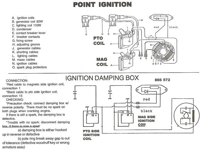Bosch ignition, Bosch points ignition wiring diagrams.Rotax Aircraft